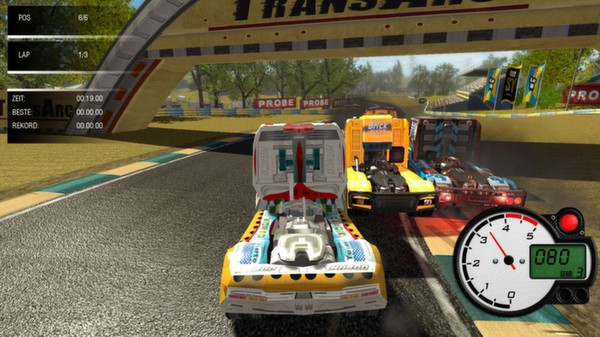 31-Truck Racing Around the World
