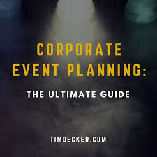 31-Tips For Planning Business & Corporate Events